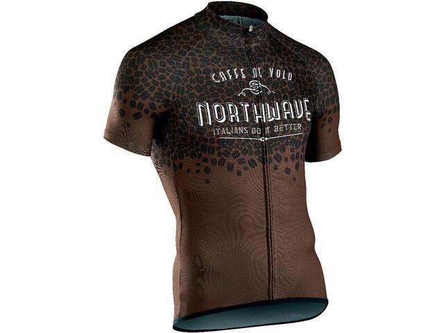 Northwave Caffealvolo Kortærmet cykeltrøje Herrer, brown